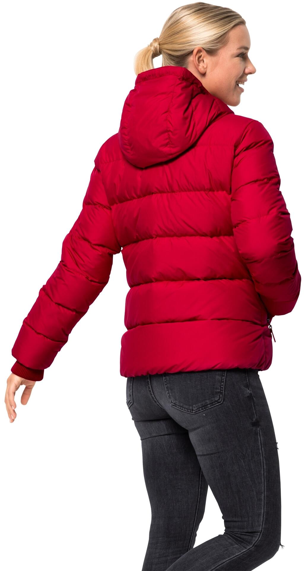 Jack Wolfskin Crystal Palace Veste Femme, ruby red sur CAMPZ